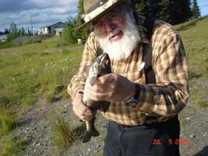 Sourdough Joe with custom Alaskan Flies